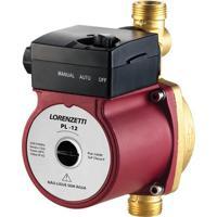 Pressurizador Para Sistema Hidráulico 160W 110V Pl12 Vermelho E Preto