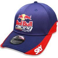 Boné New Era 3930 Hc Red Bull Racing Aba Curva Marinho 51535a6878c