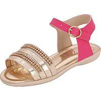 Sandália Bebê Plis Calçados Graciosa Feminina - Feminino-Pink