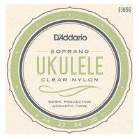 Encordoamento Para Ukulele Soprano Daddario Ej65S Nylon