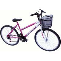 Bicicleta Aro 26 Wendy Mtb 18M Convencional - Unissex
