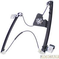 Máquina De Vidro - Zinni & Guell - Gol 1998 Até 2008 - 4 Portas - Manual - Dianteira - Lado Do Motorista - Cada (Unidade) - R-4175E