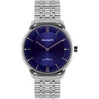 Relógio Akium Masculino Aço - Tmg7132A