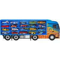 Painel Expositor Junges Em Madeira Porta 20 Carrinhos Junges Azul