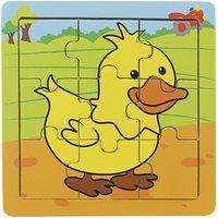 Quebra-Cabeça - Pato (9 Peças)