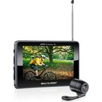 Gps Tracker Iii 4.3 Camera De E Tv Digital Multilaser - Unissex