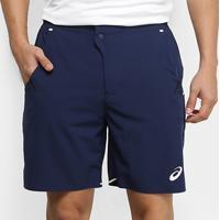Short Asics Tennis Assimétrico Masculino - Masculino