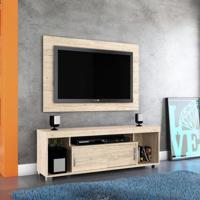 Rack Com Painel Para Tv 55 Polegadas Pierre Rústico