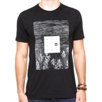 Camiseta Hang Loose Silk Landscape Masculina - Masculino-Preto