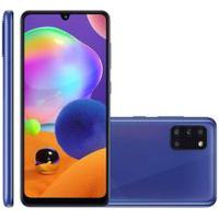 Smartphone Samsung Galaxy A31 128Gb Dual Chip Android 10 Azul