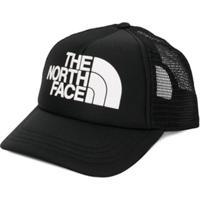 The North Face Kids Boné Com Logo Bordado - Preto
