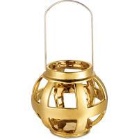 Lanterna Bencafil 15X13,5 Cm Dourada