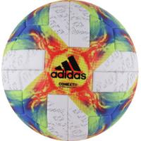 Bola De Futebol De Campo Adidas Conext19 Omb - Branco/Verde Cla