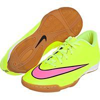 Chuteira Nike Mercurial Vortex Ii Ic Amarela 273ae2d283daa