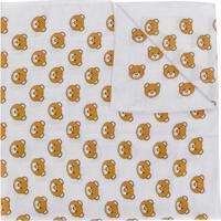 Moschino Echarpe Com Estampa Teddy Bear - Cinza