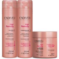 Cadiveu Hair Remedy Kit Manutenção Máscara Reparadora 500Ml