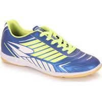 Chuteira Futsal Masculina Dray F - Azul