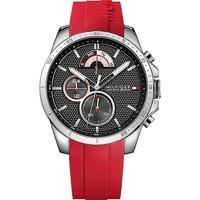 Relógio Tommy Hilfiger Masculino Borracha Vermelha - 1791351
