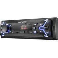 Som Automotivo Pop 1 Din Bluetooth Mp3 4X25Wrms Rádio Fm + Entrada.