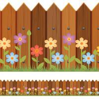 Faixa De Parede Adesiva Infantil Cerca Primavera 10Cmx10M - Tricae