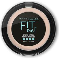 Pó Compacto Maybelline Fit Me N01 Super Claro Neutro - Feminino-Incolor