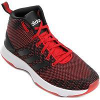 Tênis Adidas Cf Executor Mid Masculino - Masculino-Vermelho+Preto