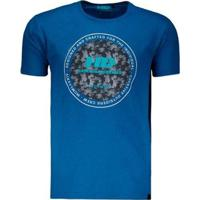 Camiseta Hd Cozy Masculina - Masculino-Azul