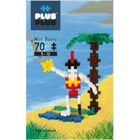 Brinquedo Infantil Jokenpô/Steam Toy Basic Pirate 70 Pcs - Unissex-Incolor