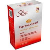 Henna Para Sobrancelhas Expressão Facial Slim Preto - Feminino-Incolor
