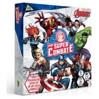 Jogo De Tabuleiro - Super Combate - Disney - Marvel - Os Vingadores - Toyster