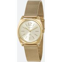 Kit Relógio Feminino Lince Lrgh121L-Kx28C2Kx Analógico 5Atm + Conjunto Semijóia