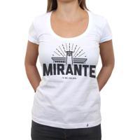 Mirante Clássico - Camiseta Clássica Feminina