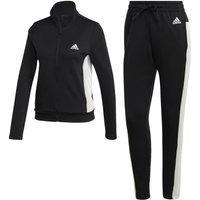 Agasalho Adidas Teamsports Feminino Fi6696, Cor: Preto/Branco, Tamanho: G