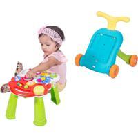 Andador Didático E Mesinha 2 Em 1 Baby Style - Tricae