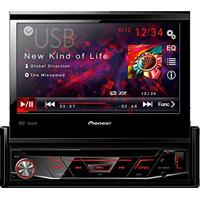Dvd Automotivo Com Tela Retratil 7´´ Cd/Usb/Aux/Fm/Am Avh3880Dvd Pioneer
