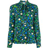 P.A.R.O.S.H. Blusa Com Estampa Gráfica - Verde