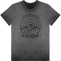 Camiseta Masculina Paradise Preto