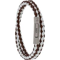 Tod'S My Colours Woven Bracelet - Branco