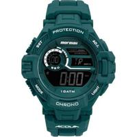 Relógio Digital Action Mormaii Mo1134Aa/8V Masculino - Masculino-Verde