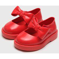 Sapatilha Mini Melissa Infantil Lola Bb Vermelha