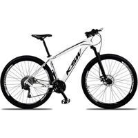 Bicicleta Aro 29 Ksw Xlt 27V Câmbios Shimano Deore M592 Freio A Disco Mecânico Com Suspensão - Unissex