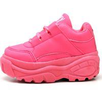Tênis Infantil Ousy Shoes Bufalo Rosa