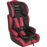 Cadeira Para Auto - De 09 A 36 Kg - Company - Preto E Vermelho - Kiddo