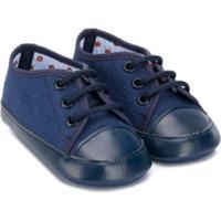 Colorichiari Sapato Com Amarração - Azul