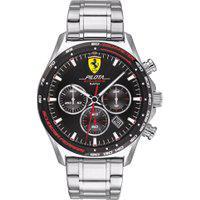 Relógio Scuderia Ferrari Masculino Aço - 830714