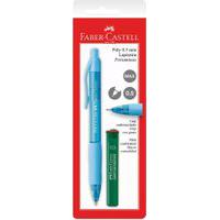 Lapiseira 0.5Mm - Poly - Azul - Faber-Castell