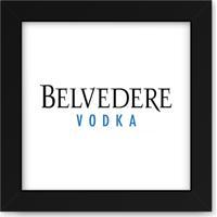 Quadro Adoraria Vodka Belvedere Preto