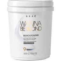 Braé - Wanna Be Blond - Bleach Powder Pó Descolorante 9 Tons 500 G