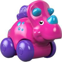 Fisher-Price Carrinho Dinossauro Triceratops Rosa - Mattel