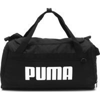 Bolsa Puma Challenger Duffel Bag S Preta - Preto - Dafiti